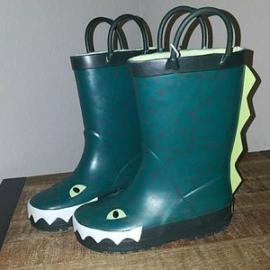 NWT Carter's toddler boys size 8 rain boots